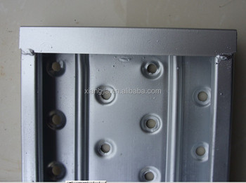 BS1139 scaffolding metal board used for construction oil and gas project