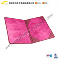 Exotic New Arrival A4 Paper Certificate Holder With Leather Holder