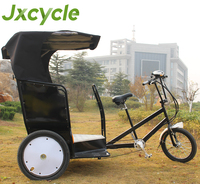 Electric Three Wheel Passenger Taxi Bicycle
