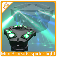 Adj kaos mini moving head 9x10w 4in1 led beam stage lighting disco led Spider Sharpy Beam