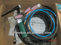 original trafimet tig 26 welding argon torch air cool with current control potentiometer 47k tig torch