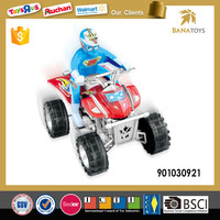 Hot sale kids mini electronic plasitc motorcycle with man