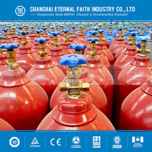 industrial oxygen/CO2/argon/nitrogen gas cylinder ISO tank container for sale seamless welding