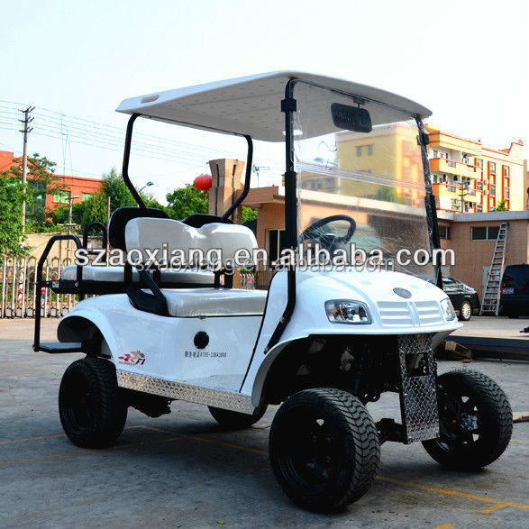 Big wheel electric road legal vehicle 4 seater