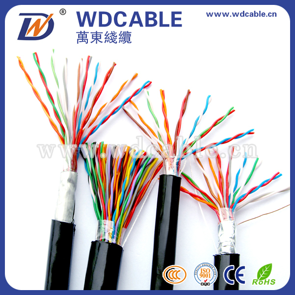 WD brand 1000 ft multi pair communication 100 pair cat6 utp lan cable