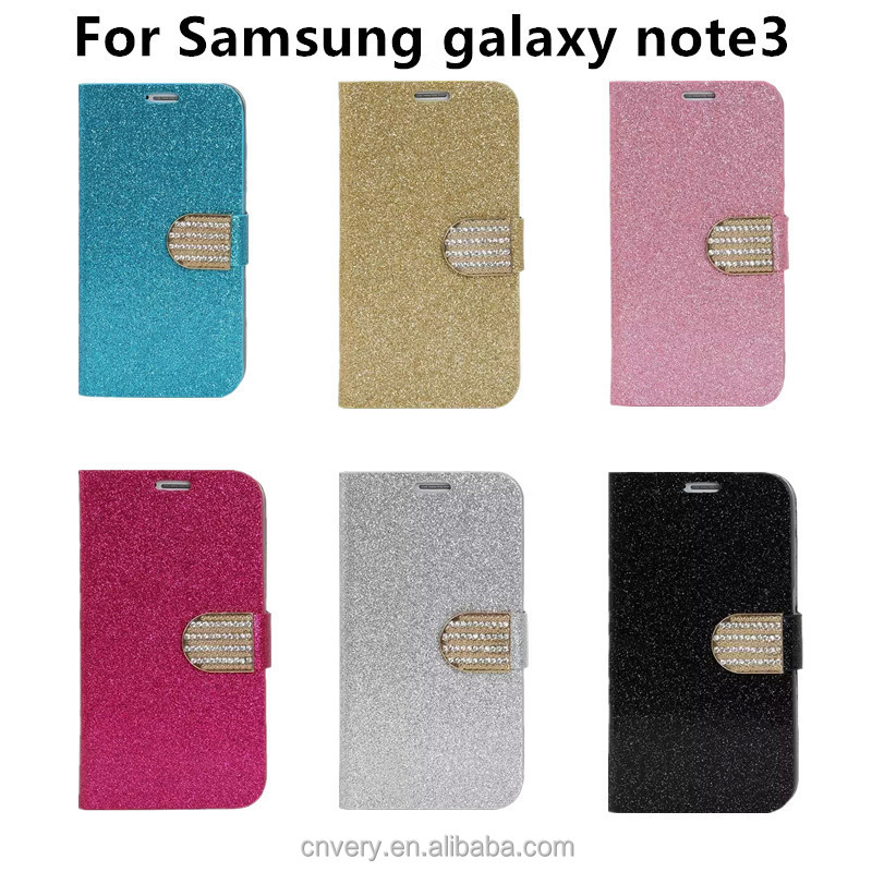 china supplier for galaxy note 3 case samsung n9000 mobile phone cover flip stand luxury Protective sleeve mobile accessories