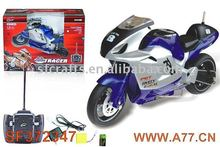 1:8 R/C motorcycle toy