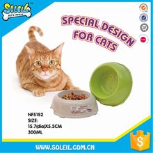 Excellent Quality Natural Straw Pet Feeder Bowls For Cats