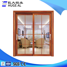 China custom used aluminum commercial door