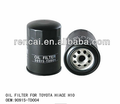 Car parts for Toyota oil filter factory 90915-TD004 oil filter