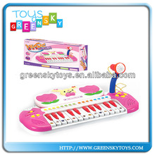 Electronic Keyboard with microphone toys