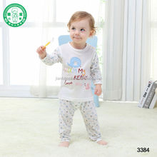 100% Bamboo Cotton Baby Clothes, Baby Sleepwear Suit, Kids Pajamas