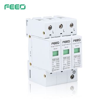 Oem Factory China Power Surge Protector SPD Surge Protection Lightning Arrestor With High Quality