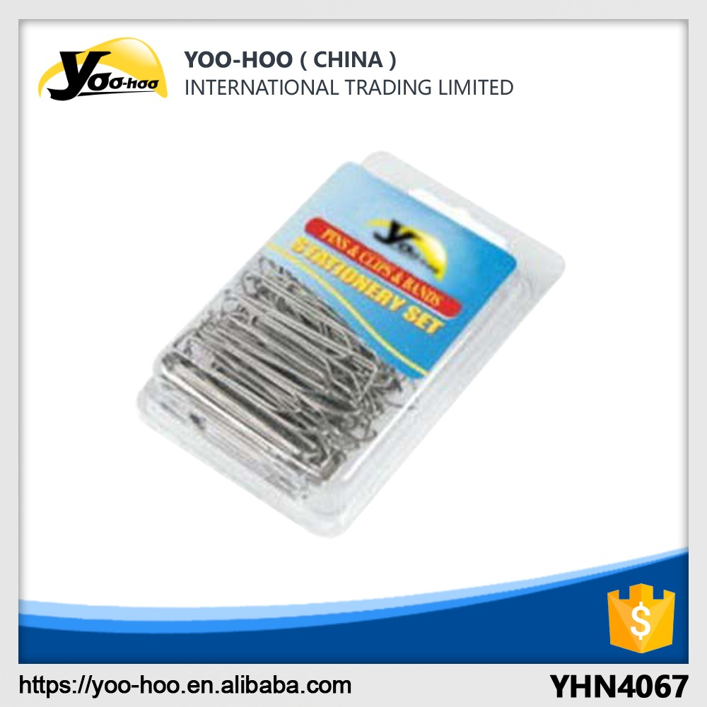 50mm nickel-plating paper clips for school and office