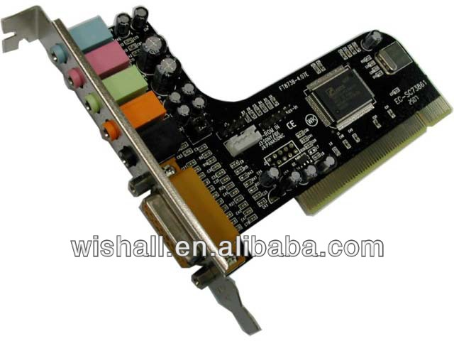 2014 OEM products products pci 6-Channel Sound Card ,5.1ch usb external sound card