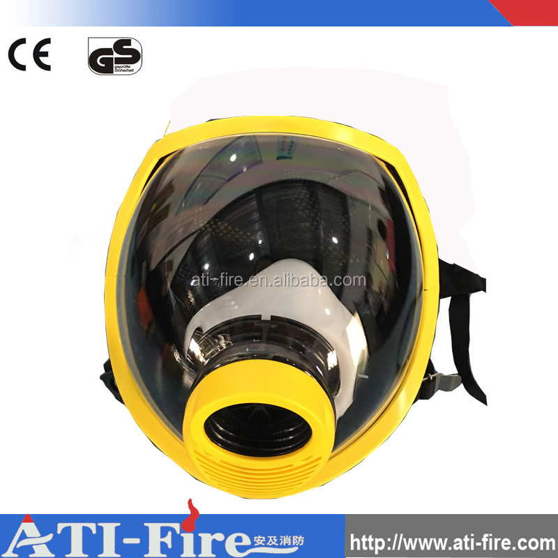 Personal fire fighter air filter mask