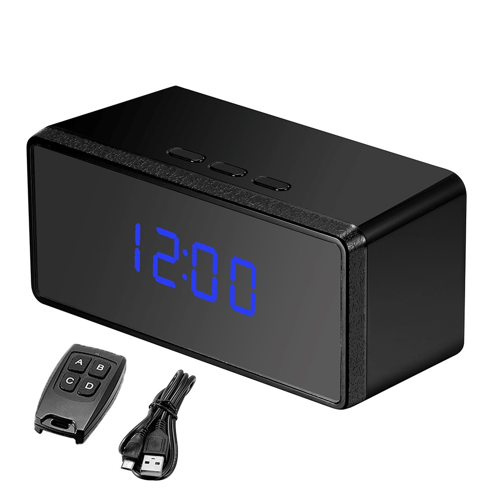 oumeiou CE ROHS multifunction motion detection desk clock hd sp-y <strong>camera</strong>