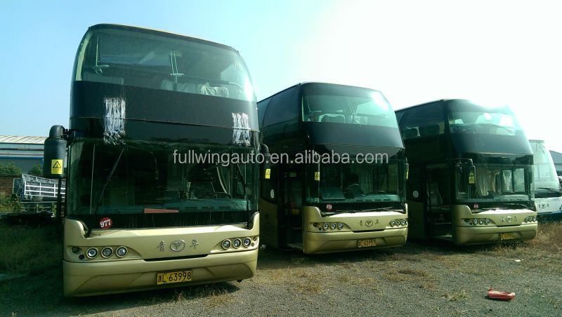 used luxury double decker bus for sale