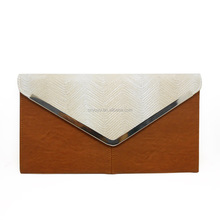 2016 brand new daily used envelope clutch purse for women