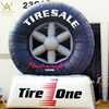 New Advertising Product Inflatable Tire, Giant Inflatable Tyre balloon replica
