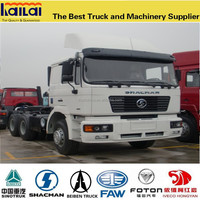 Low price for brand new Shacman 6x4 tractor head truck/semi-trialer truck head