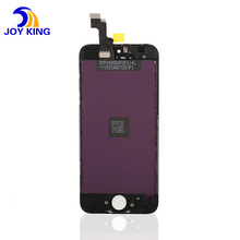 AAA Lcd display+touch glass screen digitizer +frame assembly for iphone 5s 5G 5C Pantalla white/black color free shipping