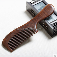 100% Handmade Wooden Hair Comb Sandalwood No Static Comb