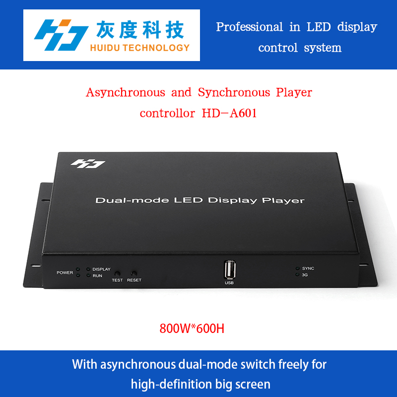 HD-A601 online&offline rgb large display card outdoor advertising screen xxx video china