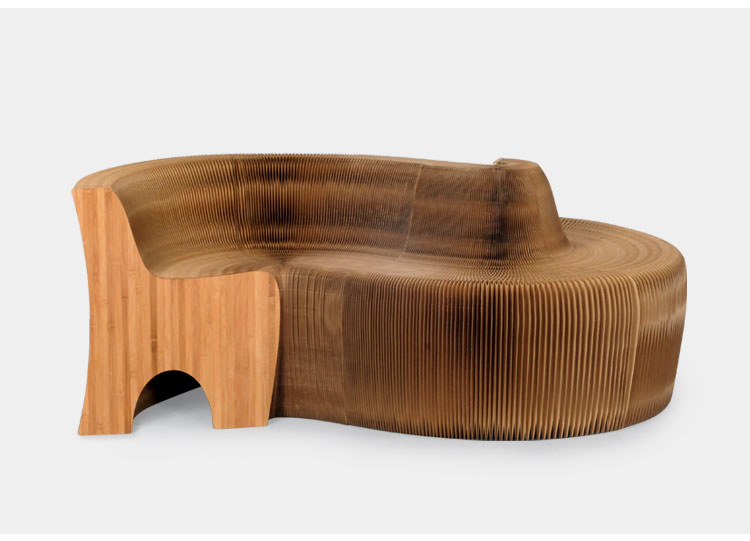 Paper Flexible Folding Honeycomb Sofa Buy Foldable