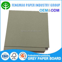 Manufacturer China competitive price grey chip board carton board