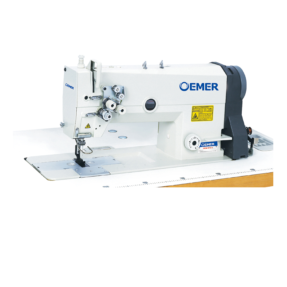 brother type double needle sewing machinery