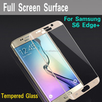 3D Curved Guard Full Size S6 Edge+ Protective Film Tempered Glass Screen Protector For Samsung Galaxy S6 Edge+ Plus