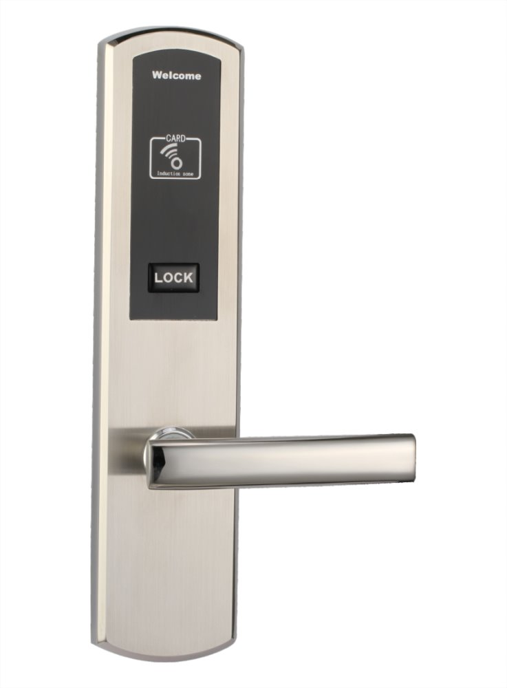 electronic motor door lock