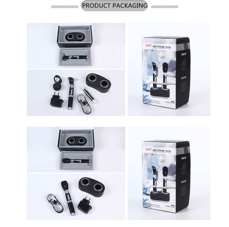 Latest Design Rechargeable Mini Otoscope Ear With CE Certificates