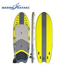 Top Selling Super Light Eps Paddle Board Supsquatch Inflatable Soft Sup With Pump, Backpack