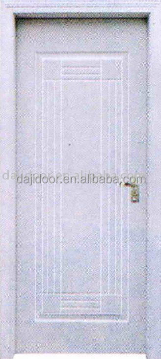 PVC plain white bedroom door for sale