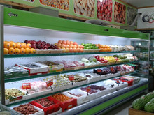 Commercial Fresh Fruit and Vegetable Display Cooler