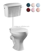 New design Leisure style Dual-Flush African style porcelain toilet in CHINA taizhou