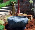 Japanese Style Bamboo Fountain
