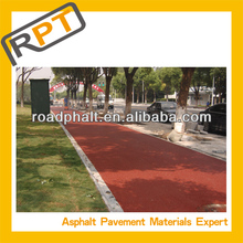 factory produce colored mixture Asphalt