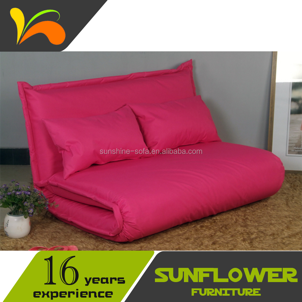 Fabric Folding Floor Sofa Bed <strong>Furniture</strong> For Livingroom