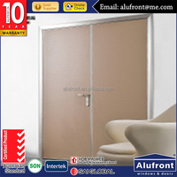 MDF inner door with wooden color design