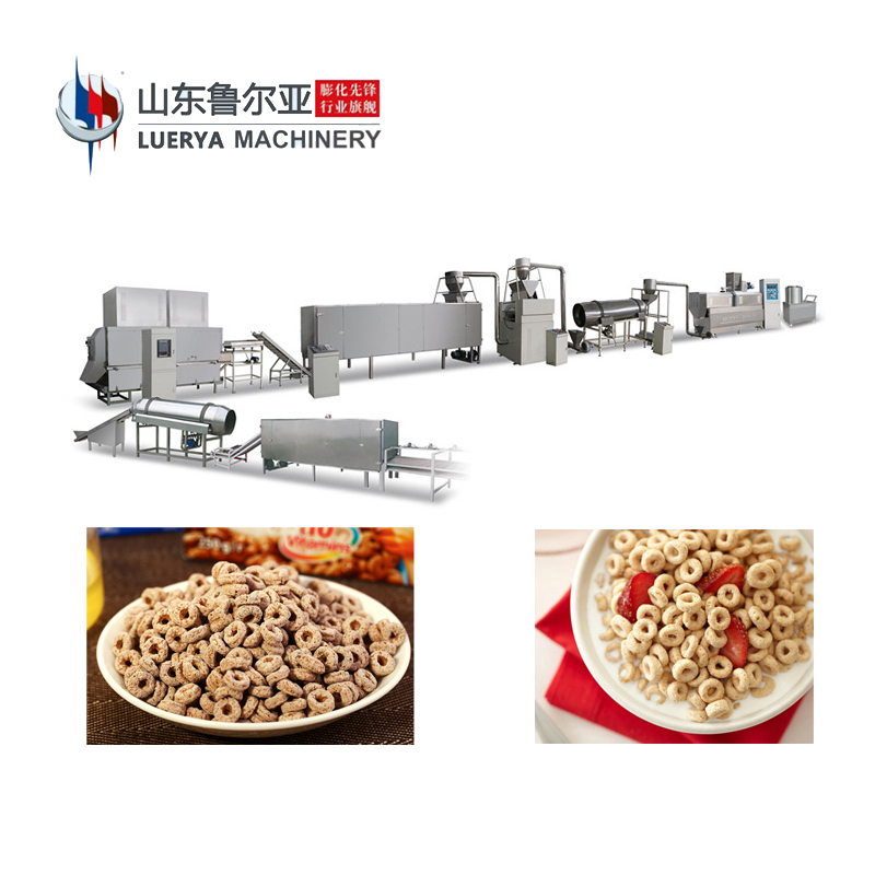 high quality industrial dry <strong>food</strong> for cereal snacks machine