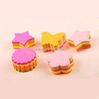 Cute Custom Sticky Notes Fluorescent Color Overlapping Sticky Notes