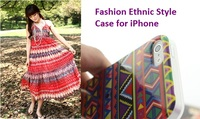 Ethnic Style Case for iPhone 5 5S , Tribal Tribe Pattern Retro TPU Case for iPhone Wholesale Cellphone Accessories