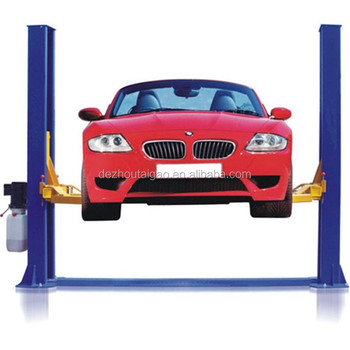 Factory direct sale long warranty auto 2 post car lift with CE and high quality