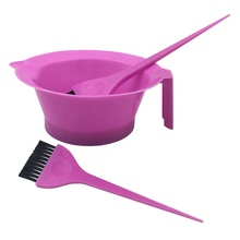 Top Sale Professional Salon Dyeing Tool Hair Coloring Brush and Bowl Set