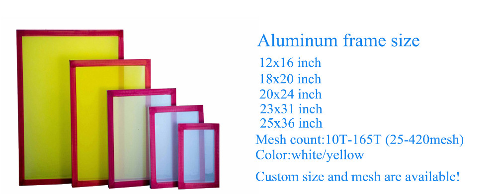 20*24 inch silk screen printing frame
