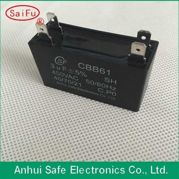 CBB61 super ac silver mica capacitor in Safe