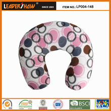 Bean bag personalized travel neck pillow for christmas